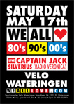 We all love 80's en 90's, 17 mei 2014